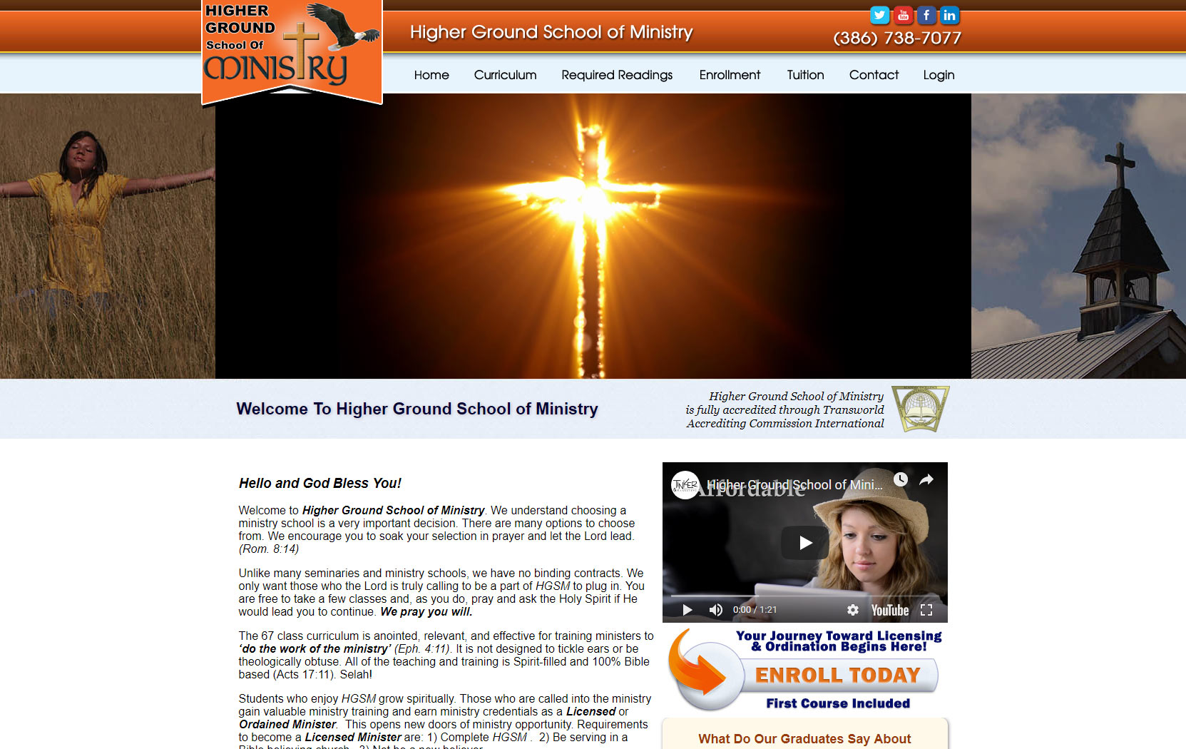 Higher Ground School of Ministry