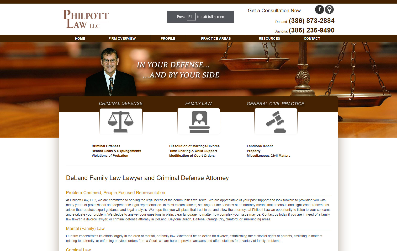 Philpott Law