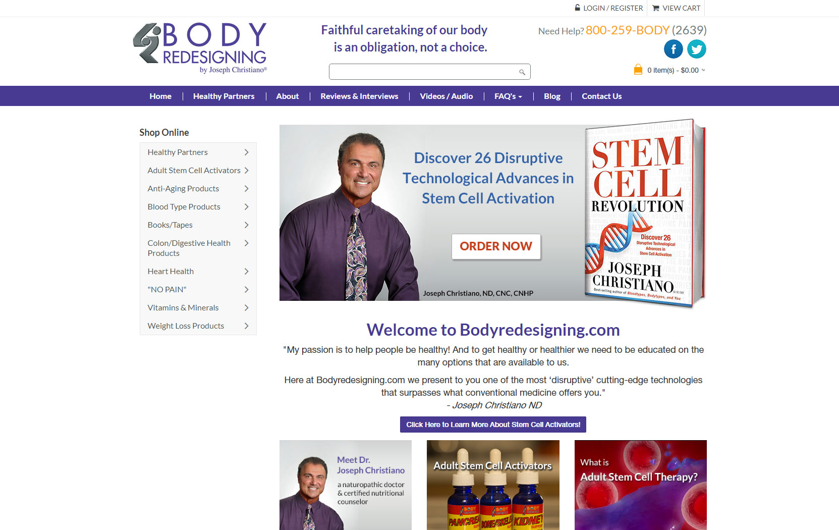 Body Redesigning by Joseph Christiano