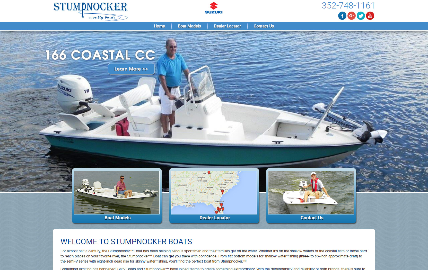 Stumpnocker Boats